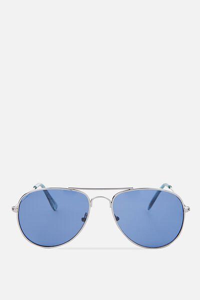 Pilot Sunnies, SUBTLE SILVER BLUE 4