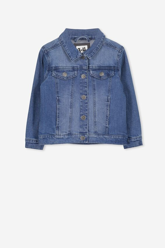 Daisy Denim Jacket, VINTAGE WASH
