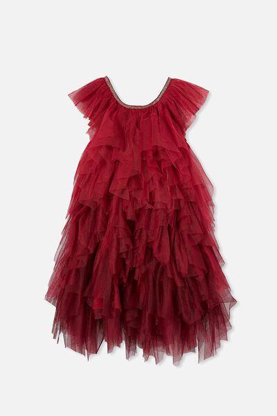 Alicia Dress Up Dress, BERRY GRADIENT