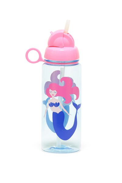 Spring Drink Bottle, BLUE MERMAID