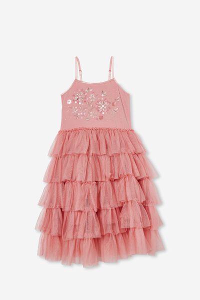 Iris Dress Up Dress, MUSK ROSE/FLORAL