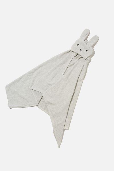 Baby Snuggle Towel, CLOUD MARLE BUNNY