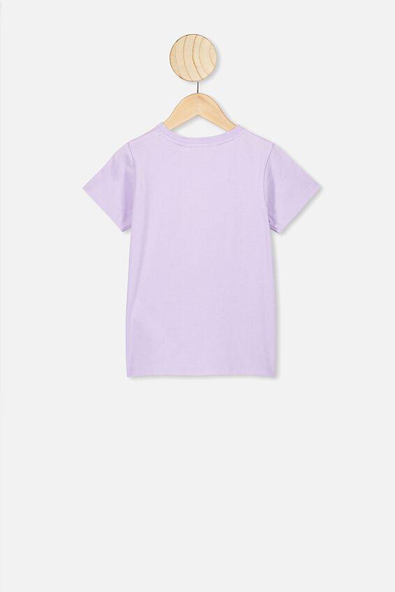 Lux Short Sleeve Tee, LCN DIS VINTAGE LILAC/MINNIE POSING