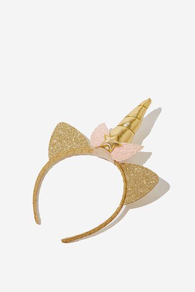 Unicorn Headband, GLITTER UNICORN
