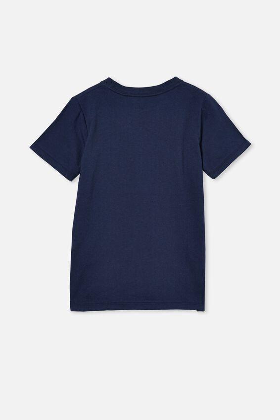Max Short Sleeve Tee, INDIGO/SHARK