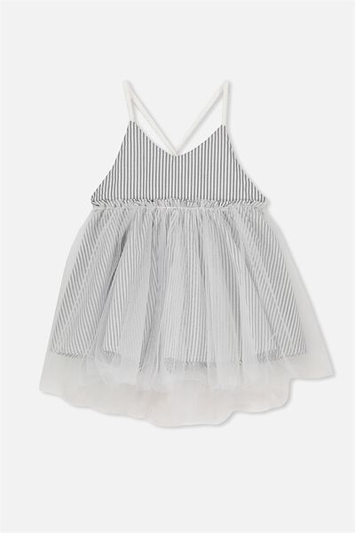 Isadora Dress Up, VANILLA/STRIPE