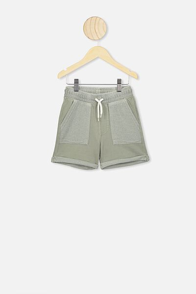 Henry Slouch Short, SILVER SAGE WASH