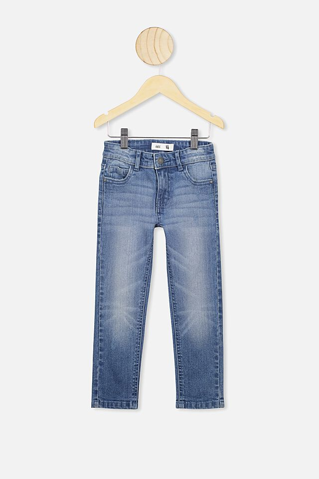 Ollie Slim Leg Jean, MID DENIM A
