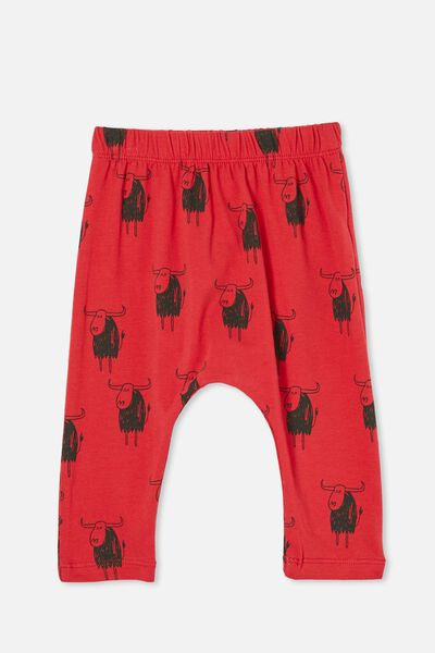 The Legging, LUCKY RED/LUCKY OX