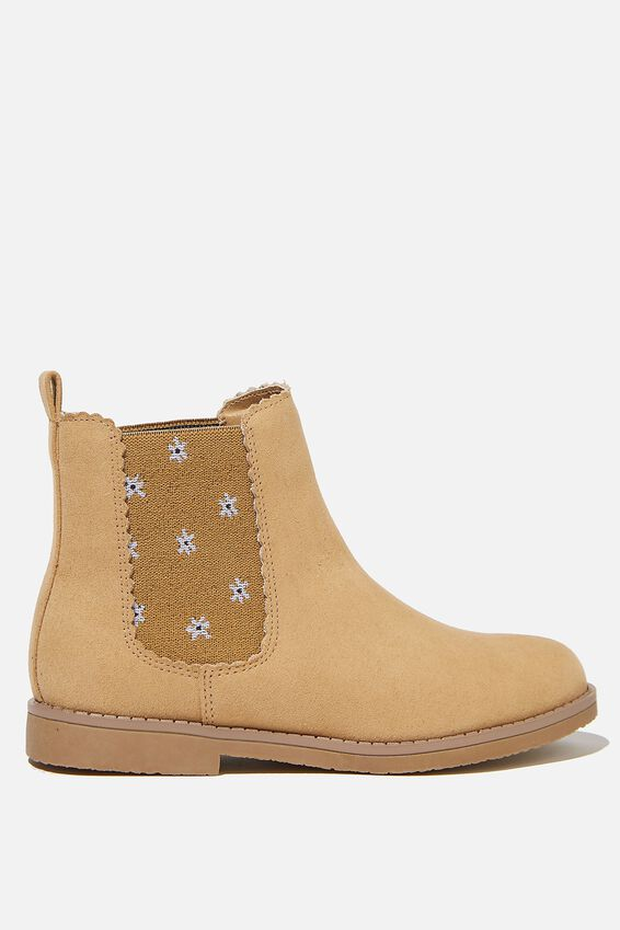 Scallop Gusset Boot, SANDUNE DITSY FLORAL