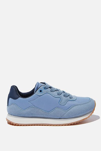 Retro Trainer, DUSTY BLUE