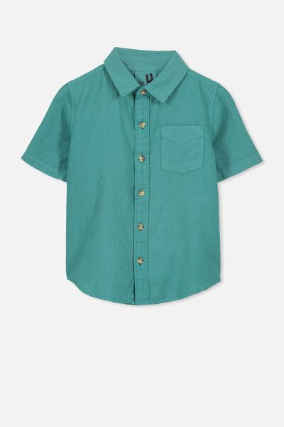 Jackson Short Sleeve Shirt, ROCKPOOL BLUE