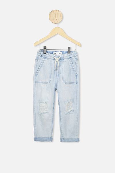 Daria Slouch Jean, BLEACH WASH