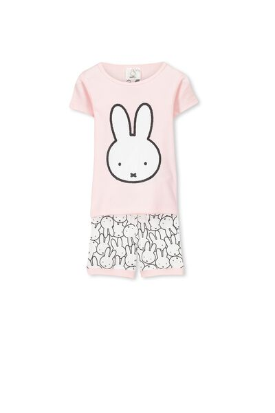 Miffy Short Sleeve PJ Set, MIFFY PUZZLE