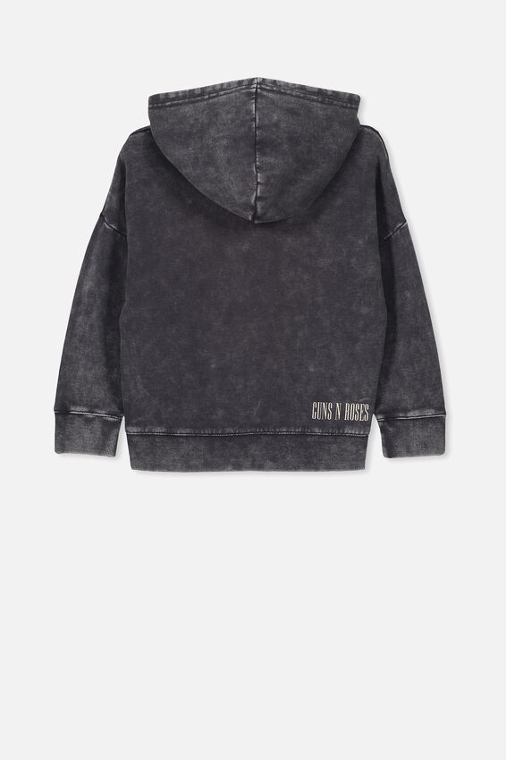 Lux Hoodie, LCN BR BLACK WASH/SWEET CHILD O'MINE/DROP