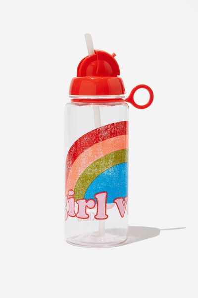 Spring Drink Bottle, RAINBOW VIBES