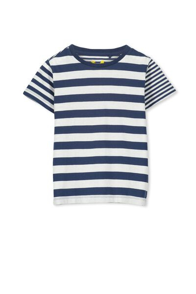 Max Short Sleeve Tee, CAPTAIN BLUE YDG STRIPE