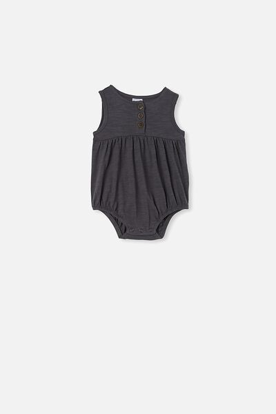 Craigelina Singlet Bubbysuit, RABBIT GREY