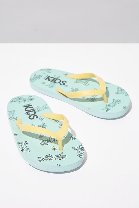 Printed Flip Flop, CROC
