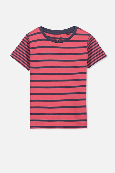 Max Short Sleeve Tee, RIVER RED TWILIGHT STRIPE/SIS