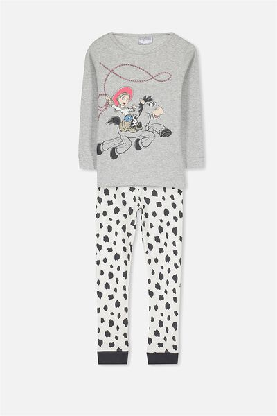 Alicia Long Sleeve Girls Pj Set, JESSIE THE COW GIRL