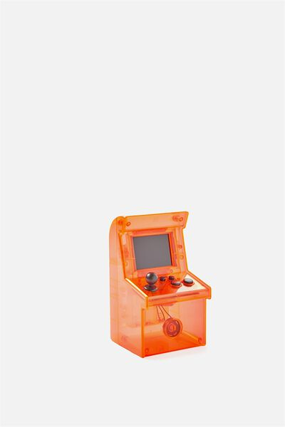 Kids Mini Arcade Game, BRIGHT ORANGE