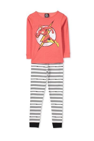 Dan Long Sleeve Boys PJs, GO FLASH