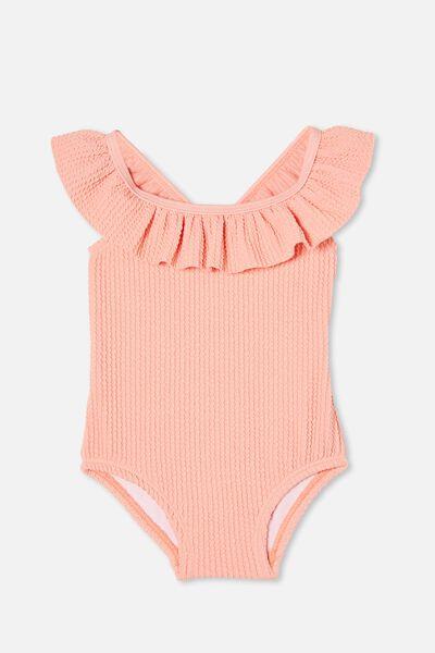 Lolita Frill Swimsuit, MUSK MELON