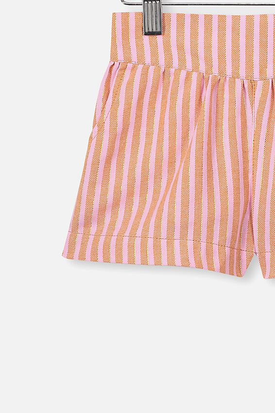 Callie Short, CALI PINK/DUST STORM LUREX STRIPE