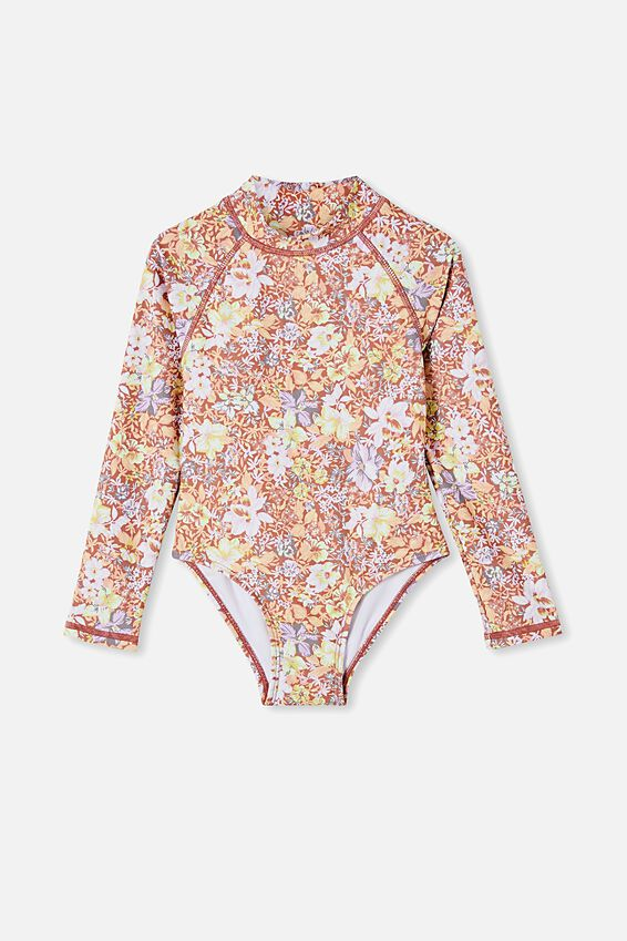 Lydia One Piece, COASTAL FLORAL