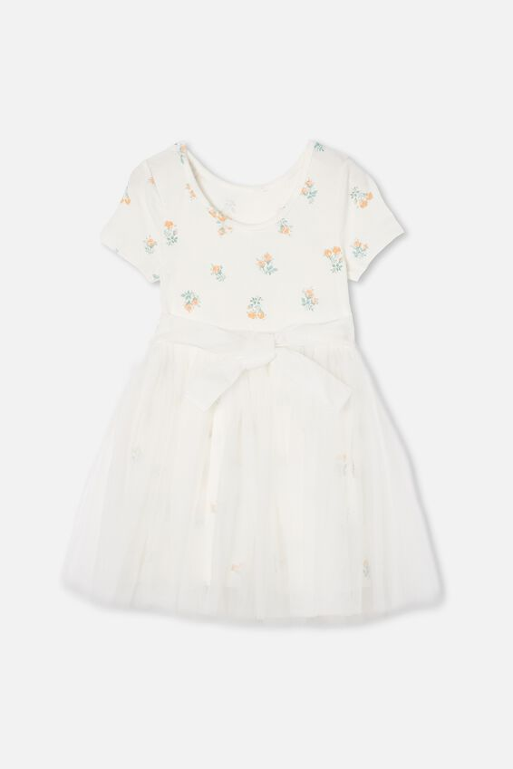 Ivy Dress Up Dress, VANILLA POSEY FLORAL