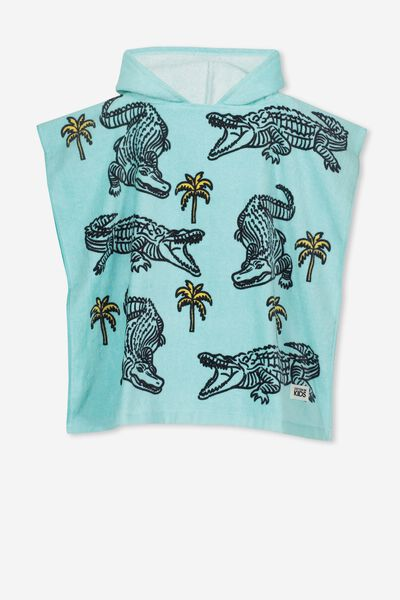 Kids Hooded Towel, CROC
