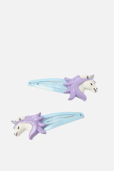 Party Hairclips, UNICORN/SAILOR