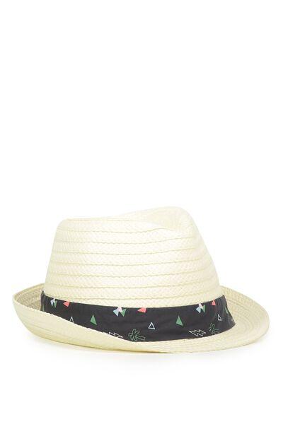 Trilby Hat, CAPTAINS BLUE
