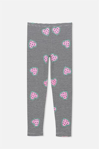Huggie Leggings, PEACOAT STRIPE/WATERMELON HEARTS