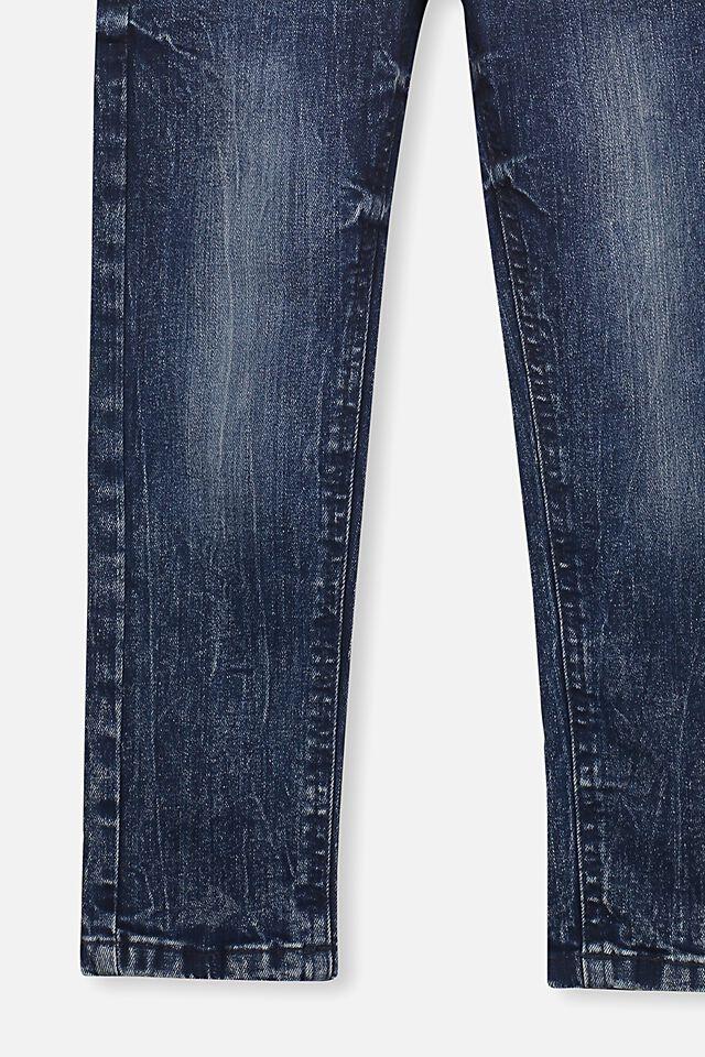 Ollie Slim Leg Jean, DARK DENIM A