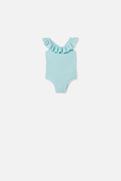 Lolita Frill Swimsuit, DREAM BLUE