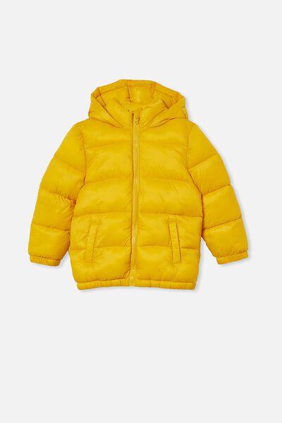 Frankie Puffer Jacket, HONEY GOLD