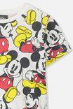 Mickey Mouse All Over Print Tee, VANILLA/CLASSIC MICKEY YARDAGE