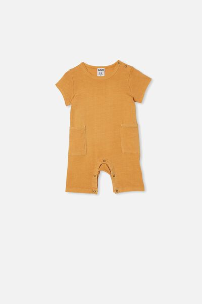 Beau Playsuit, APRICOT SUN WASH