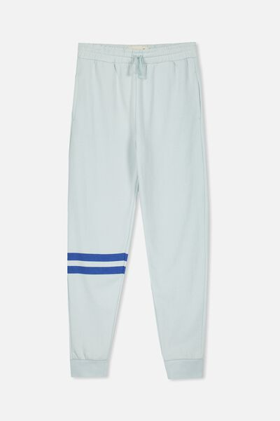 Lewis Trackpant, COOL BLUE/LEG STRIPE