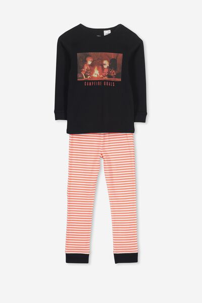 Harry Long Sleeve Boys PJ Set, LCN DIS THE INCREDIBLES