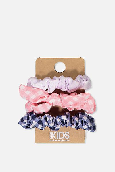 Mini Scrunchie, GINGHAM