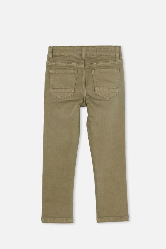 Ollie Slim Leg Jean, SILVER SAGE A