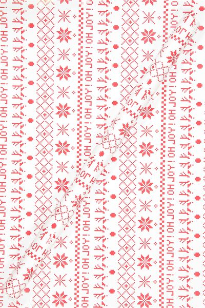 Wrapped With It, RED FAIRISLE
