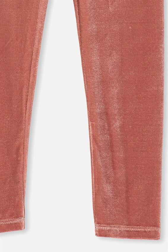 Huggie Leggings, RUSTY BLUSH PLUSH