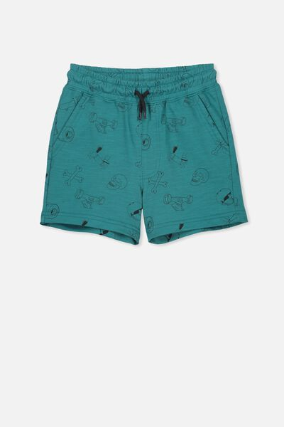 Henry Slouch Short, ROCK POOL BLUE