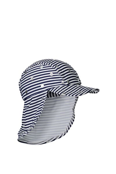 Swim Hat, SILVER SPOT PEACOAT