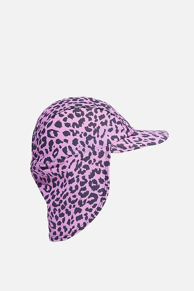 Swim Hat, LEOPARD