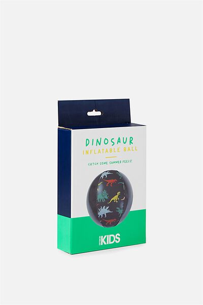 Kids Inflatable Fun Ball, GREY DINOSAUR